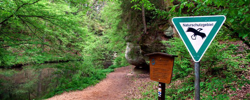 Naturschutz – Schwarzachklamm, © wikipedia